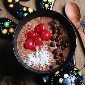 Coconut Black Forest Oatmeal