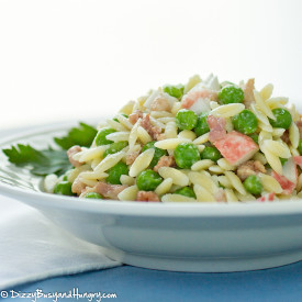 Bacon Crab Pasta Salad