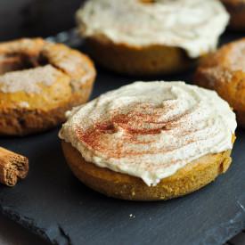 Pumpkin Pie Spice Doughnuts