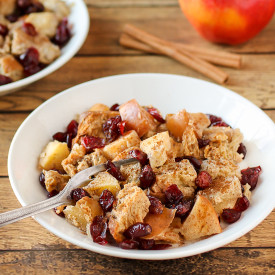 Slow Cooker Cranberry Apple French