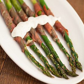 Asparagus with Prosciutto and Lemon