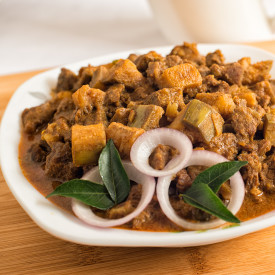 Indian Beef with Unripe Banana