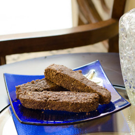 Sugar-Free Chocolate Biscotti