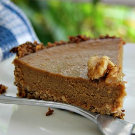 Walnut and Pumpkin Pie