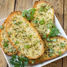Quick Parmesan Garlic Bread