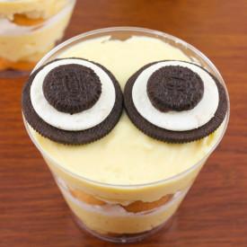 minion Banana Pudding Cups