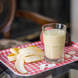 After-Workout Peach Banana Protein