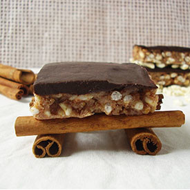 Peanut Butter Cinnamon Scotcheroos