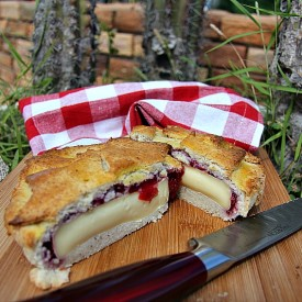 Camembert Cranberry Pie
