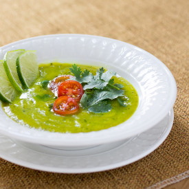 Zucchini Curry Lime Soup