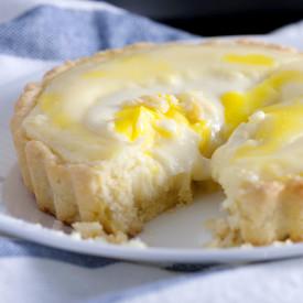 Baked Lava Cheese Tarts