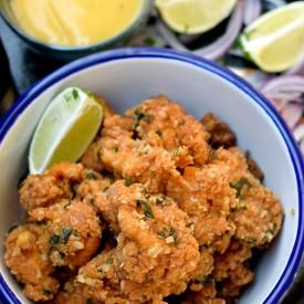 Chili Garlic Chicken Bites