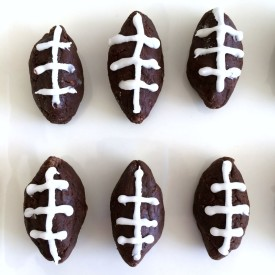 Potato Football Candy