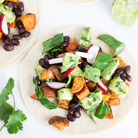Sweet Potato Tacos with Avocado