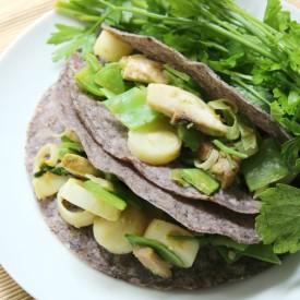 Thai Green Curry Tacos