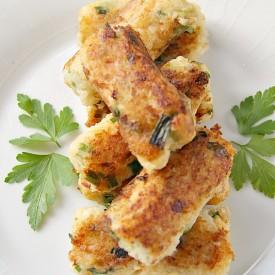 Cauliflower Cheese Onion Croquettes