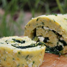 Savoury Cheese Roulade