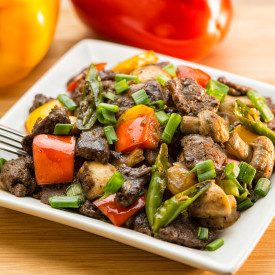 Stir fried Beef with Mushroom