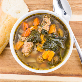 Turkey Sausage Sweet Potato Soup