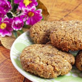 Crispy Flourless Flax Cookies