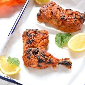 Oven-Grilled Tandoori Chicken