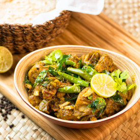 Pepper Chicken with Lime