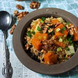 Couscous with Roasted Pumpkin