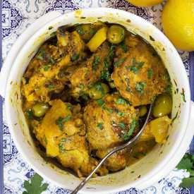 Moroccan Chicken Tagine