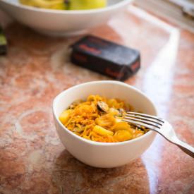 Carrot, Mango, Mussels Hash Recipe