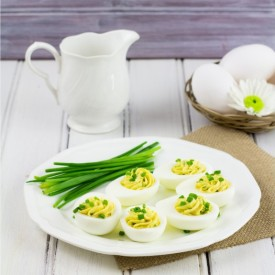 Healty Greek Yogurt Deviled Eggs
