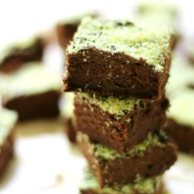 Mini Mint Chocolate Brownies (GF/V)