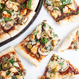 Smoky BBQ Chicken Pizza