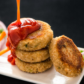 Pan fried Soya Cutlets