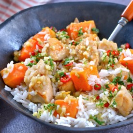 Sweet Potatoes with Chicken