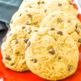 Chocolate Chip Honey Cookies