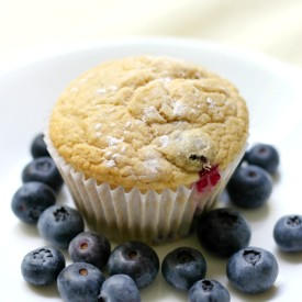 GF/V Bakery-Style Blueberry Muffins