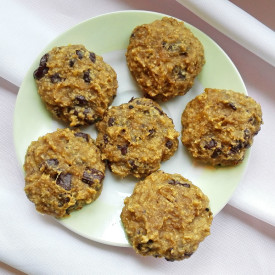 4-Ingredient Vegan Cookies
