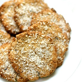 Lavender Coconut Tigernut Cookies