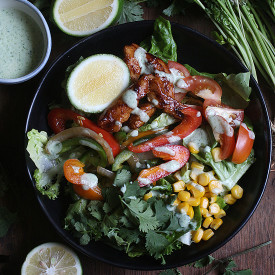 Chicken Fajita Salad Bowl