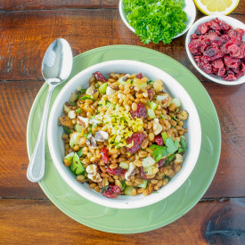 Garden Wheat Berry Salad