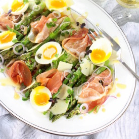 Asparagus Salad with Prosciutto