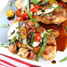 Grilled Chicken Caprese