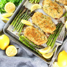 One Pan Parmesan Pork Chops