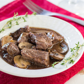Crock Pot Beef and Mushrooms