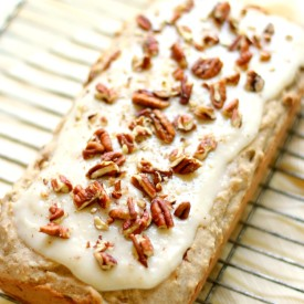 GF/V Hummingbird Loaf Cake
