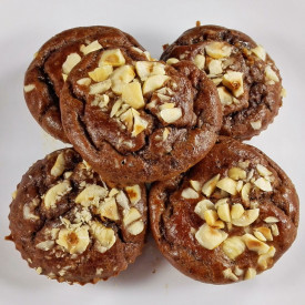 Flourless Banana Chocolate Muffins