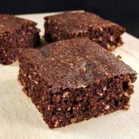 Flourless Cakey Coconut Brownies