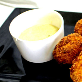 Parmesan and  Black Pepper Dipping Sauce