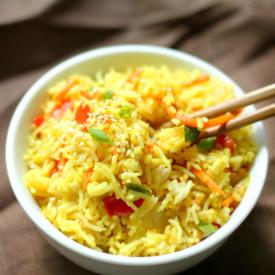 Gluten-Free Pineapple Fried Rice
