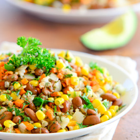 Tex Mex Beans and Rice